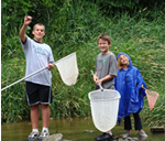 Youth Crayfishing