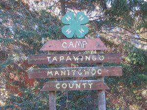 Camp TaPaWingo Sign